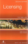 Cover of Licensing: The New Law