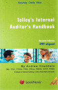 Cover of Tolley's Internal Auditor's Handbook