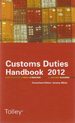 Cover of Tolley's Customs Duties Handbook 2012