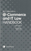 Cover of Butterworths E-Commerce and IT Law Handbook