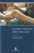 Cover of Elderly People and the Law