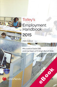 Cover of Tolley's Employment Handbook 2015 (eBook)