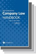 Cover of Two Volume Set: Butterworths Company Law Handbook 2018 & Tolley's Company Secretary's Handbook 28th edition