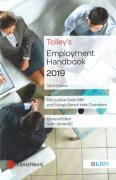 Cover of Tolley's Employment Handbook 2019