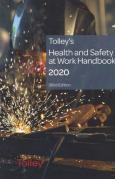 Cover of Tolley's Health and Safety at Work Handbook 2020