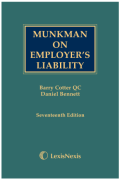 Cover of Munkman on Employer's Liability (eBook)