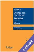 Cover of Tolley's Orange Tax Handbook 2019-20 (Book & eBook Pack)
