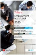Cover of Tolley's Employment Handbook 2020