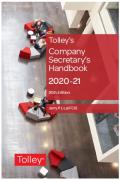 Cover of Tolley's Company Secretary's Handbook 2020-21