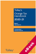 Cover of Tolley's Orange Tax Handbook 2020-21 (eBook)