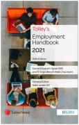 Cover of Tolley's Employment Handbook 2021