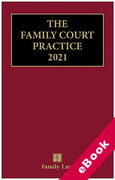 Cover of The Red Book: The Family Court Practice 2021 (eBook)