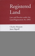 Cover of Registered Land: Law and Practice under the Land Registration Act 2002