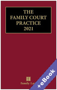 Cover of The Red Book: The Family Court Practice 2021 (Book & eBook Pack)