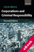 Cover of Corporations and Criminal Responsibility (eBook)