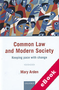 Cover of Common Law and Modern Society: Keeping Pace with Change (eBook)