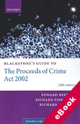 Cover of Blackstone's Guide to the Proceeds of Crime Act 2002 (eBook)