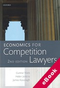 Cover of Economics for Competition Lawyers (eBook)