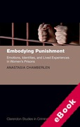 Cover of Embodying Punishment: Emotions, Identities, and Lived Experiences in Women's Prisons (eBook)