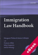 Cover of Immigration Law Handbook (eBook)