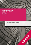Cover of LPC: Family Law 2020 (eBook)