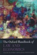 Cover of The Oxford Handbook of Law and Economics Volume 3: Public Law and Legal Institutions