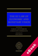 Cover of EU Law of Economic and Monetary Union (eBook)