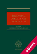 Cover of Financial Collateral: Law and Practice (eBook)