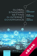 Cover of Global Standard Setting in Internet Governance (eBook)