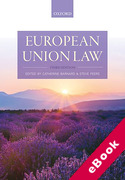 Cover of European Union Law (eBook)