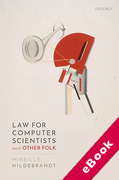 Cover of Law for Computer Scientists and Other Folk (eBook)