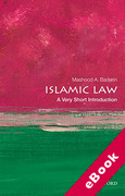 Cover of Islamic Law: A Very Short Introduction (eBook)