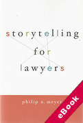 Cover of Storytelling for Lawyers (eBook)