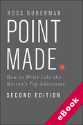 Cover of Point Made: How to Write Like the Nation's Top Advocates (eBook)