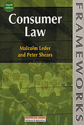Cover of Consumer Law