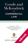 Cover of Goode & McKendrick on Commercial Law (eBook)