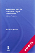 Cover of Takeovers and the European Legal Framework: A British Perspective (eBook)