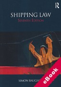 Cover of Shipping Law (eBook)