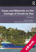 Cover of Cases and Materials on the Carriage of Goods by Sea (eBook)