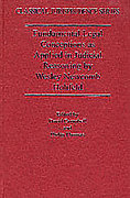 Cover of Fundamental Legal Conceptions as Applied in Judicial Reasoning by Wesley Newcomb Hohfeld