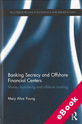 Cover of Banking Secrecy and Offshore Financial Centres: Money Laundering and Offshore Banking (eBook)