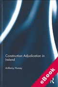 Cover of Construction Adjudication in Ireland (eBook)