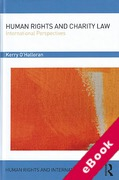Cover of Human Rights and Charity Law: International Perspectives (eBook)
