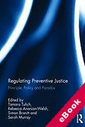 Cover of Regulating Preventive Justice (eBook)