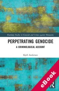 Cover of Perpetrating Genocide: A Criminological Account (eBook)