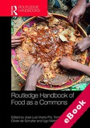 Cover of Routledge Handbook of Food as a Commons (eBook)