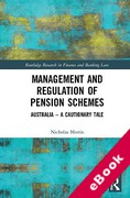 Cover of Management and Regulation of Pension Schemes: Australia - A Cautionary Tale (eBook)