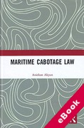 Cover of Maritime Cabotage Law (eBook)