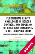Cover of Fundamental Rights Challenges in Border Controls and Expulsion of Irregular Immigrants in the European Union: Complaint Mechanisms and Access to Justice (eBook)