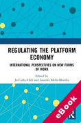 Cover of Regulating the Platform Economy: International Perspectives On New Forms Of Work (eBook)
